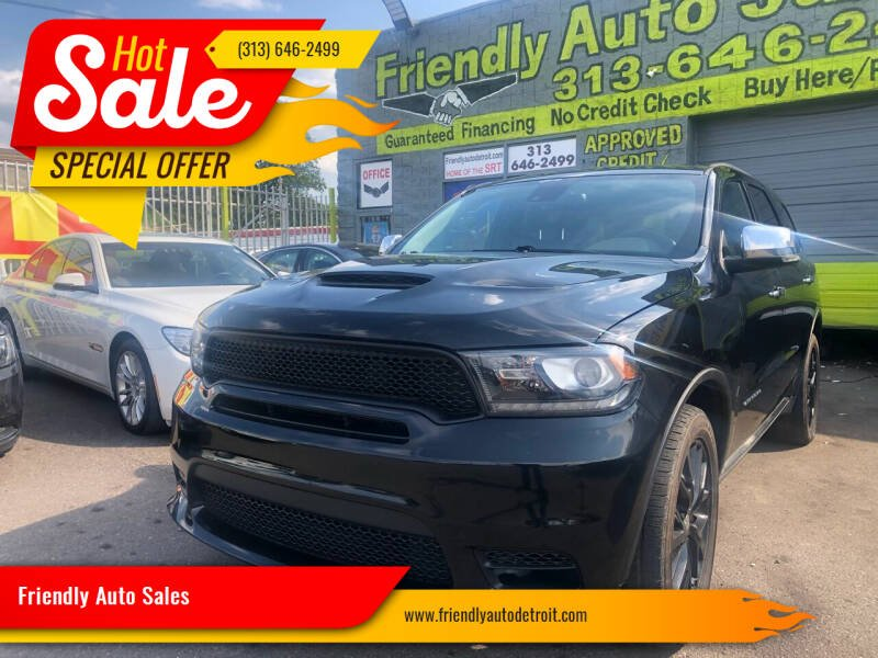 2014 Dodge Durango for sale at Friendly Auto Sales in Detroit MI