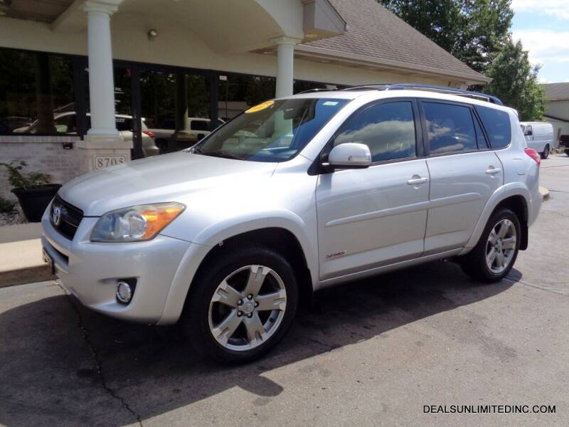 2010 Toyota RAV4 for sale at DEALS UNLIMITED INC in Portage MI