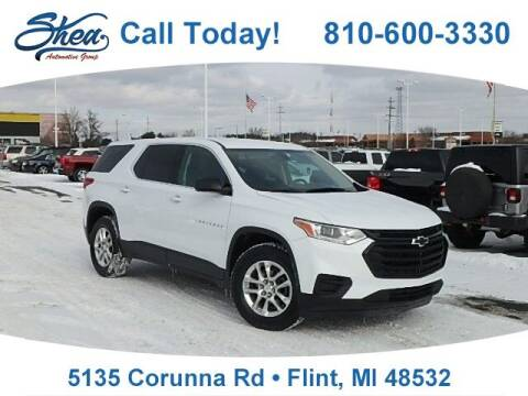 2019 Chevrolet Traverse for sale at Jamie Sells Cars 810 - Linden Location in Flint MI