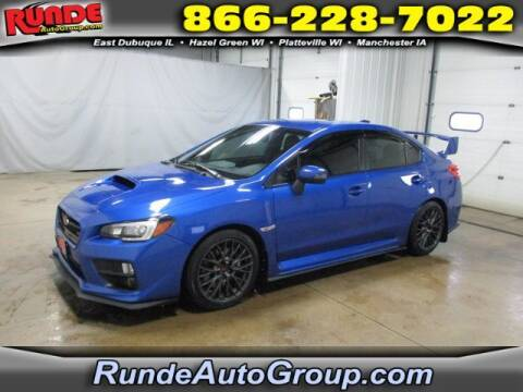 2017 Subaru WRX for sale at Runde Chevrolet in East Dubuque IL
