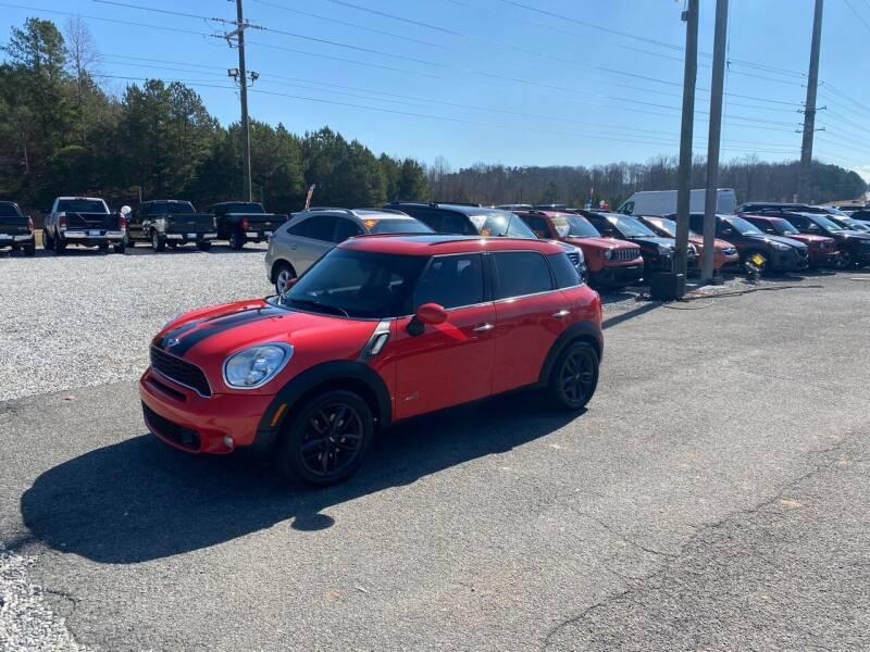 2012 MINI Cooper Countryman for sale at Billy Ballew Motorsports in Dawsonville GA