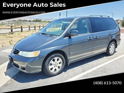 2003 Honda Odyssey for sale at Everyone Auto Sales in Santa Clara CA