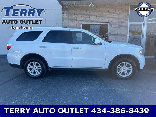 2013 Dodge Durango for sale at Terry Auto Outlet in Lynchburg VA