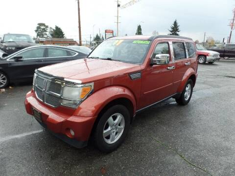 2007 Dodge Nitro for sale at Gold Key Motors in Centralia WA