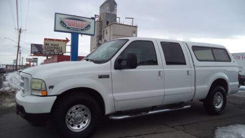 2003 Ford F-350 Super Duty for sale at Independent Auto Sales in Spokane Valley WA