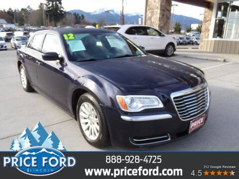 2012 Chrysler 300 for sale at Price Ford Lincoln in Port Angeles WA