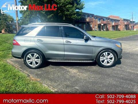 2012 Mercedes-Benz M-Class for sale at Motor Max Llc in Louisville KY