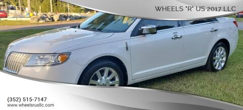 "2010 Lincoln MKZ for sale at WHEELS ""R"" US 2017 LLC in Hudson FL"