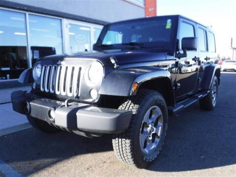 2016 Jeep Wrangler Unlimited for sale at Torgerson Auto Center in Bismarck ND