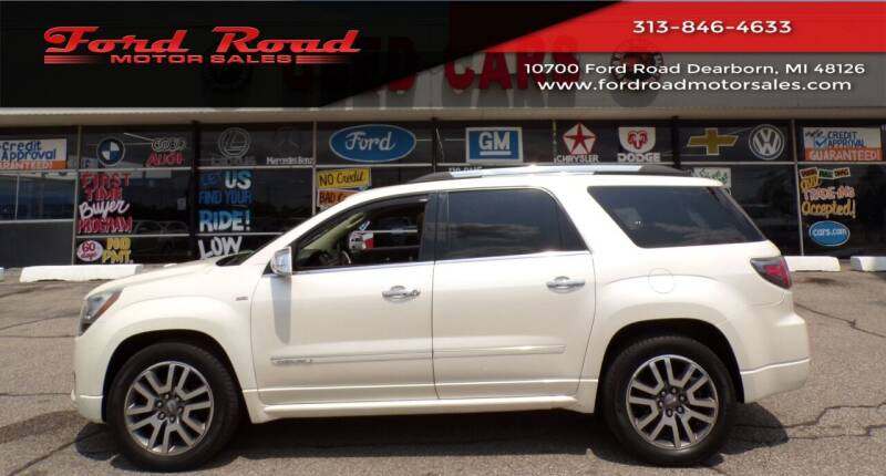 2013 GMC Acadia for sale at Ford Road Motor Sales in Dearborn MI