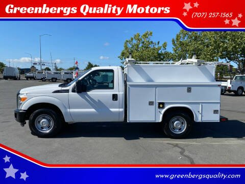2013 Ford F-250 Super Duty for sale at Greenbergs Quality Motors in Napa CA