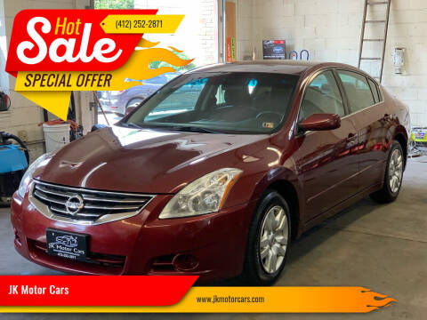 2011 Nissan Altima for sale at JK Motor Cars in Pittsburgh PA