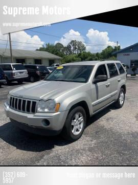 2007 Jeep Grand Cherokee for sale at Supreme Motors in Tavares FL
