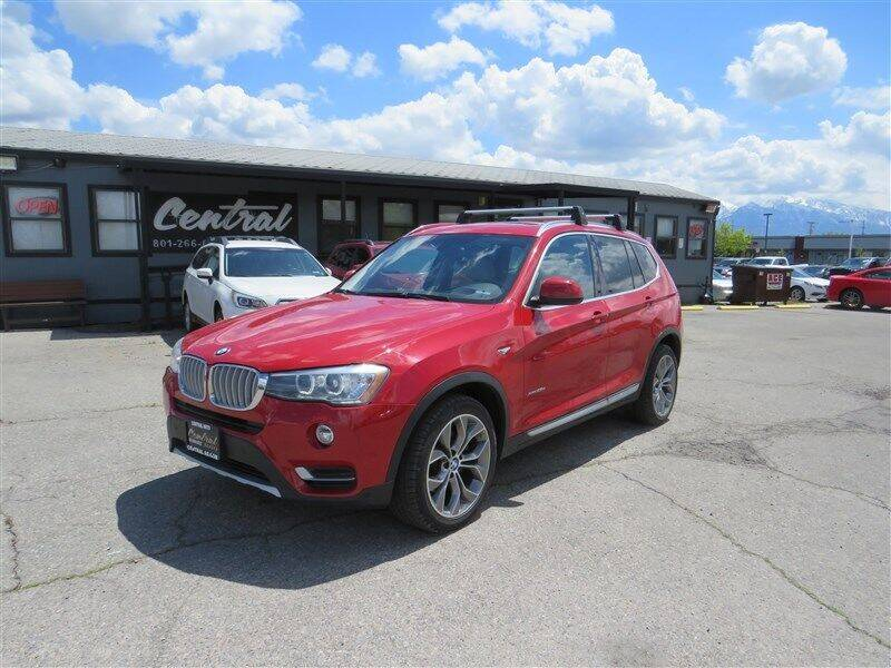 2015 BMW X3 for sale at Central Auto in South Salt Lake UT