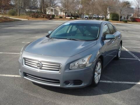 2012 Nissan Maxima for sale at Uniworld Auto Sales LLC. in Greensboro NC