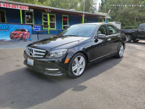 2011 Mercedes-Benz C-Class for sale at HIGHLAND AUTO in Renton WA