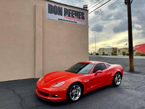 2012 Chevrolet Corvette for sale at Don Reeves Auto Center in Farmington NM