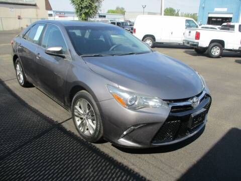 2017 Toyota Camry for sale at Major Car Inc in Murray UT