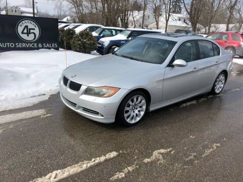 2006 BMW 3 Series for sale at Station 45 Auto Sales Inc in Allendale MI