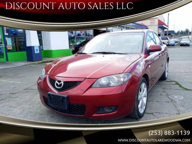 2009 Mazda MAZDA3 for sale at DISCOUNT AUTO SALES LLC in Lakewood WA