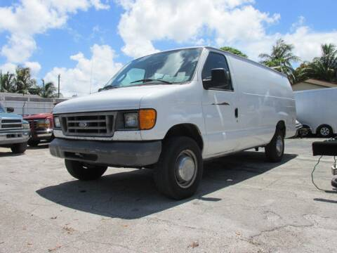2006 Ford E-Series Cargo for sale at TROPICAL MOTOR CARS INC in Miami FL
