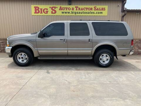 2002 Ford Excursion for sale at BIG 'S' AUTO & TRACTOR SALES in Blanchard OK
