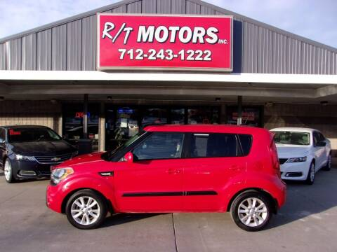 2013 Kia Soul for sale at RT Motors Inc in Atlantic IA