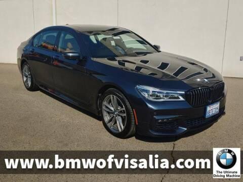 2018 BMW 7 Series for sale at BMW OF VISALIA in Visalia CA