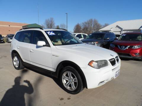 2006 BMW X3 for sale at America Auto Inc in South Sioux City NE