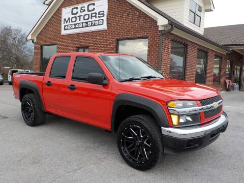 2007 Chevrolet Colorado for sale at C & C MOTORS in Chattanooga TN