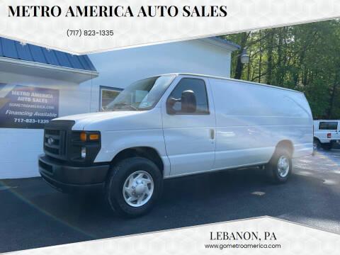 2014 Ford E-Series Cargo for sale at METRO AMERICA AUTO SALES of Lebanon in Lebanon PA