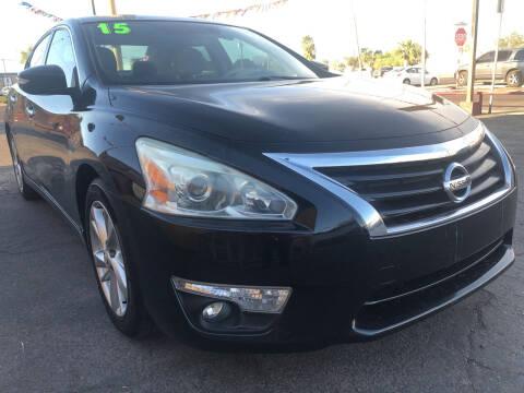 2015 Nissan Altima for sale at Sunday Car Company LLC in Phoenix AZ