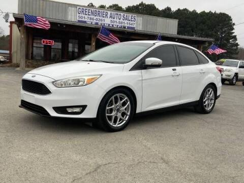 2015 Ford Focus for sale at Greenbrier Auto Sales in Greenbrier AR