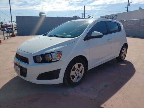 2015 Chevrolet Sonic for sale at Faggart Automotive Center in Porterville CA