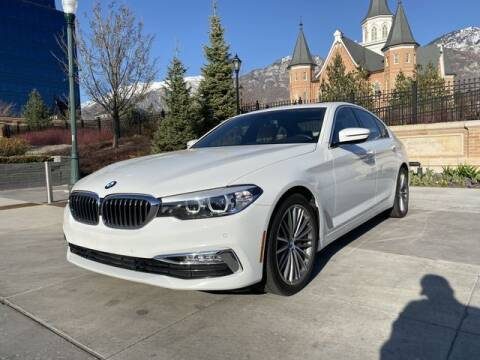 2018 BMW 5 Series for sale at Classic Car Deals in Cadillac MI
