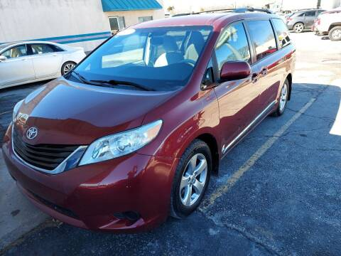 2011 Toyota Sienna for sale at Bourbon County Cars in Fort Scott KS