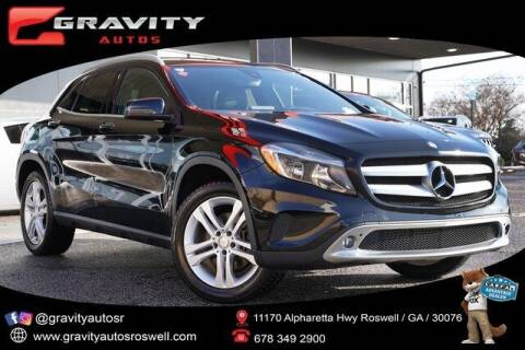 2017 Mercedes-Benz GLA for sale at Gravity Autos Roswell in Roswell GA