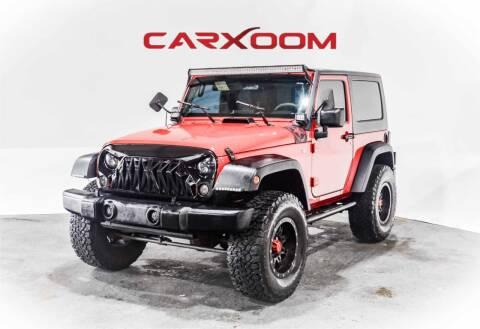 2008 Jeep Wrangler for sale at CarXoom in Marietta GA