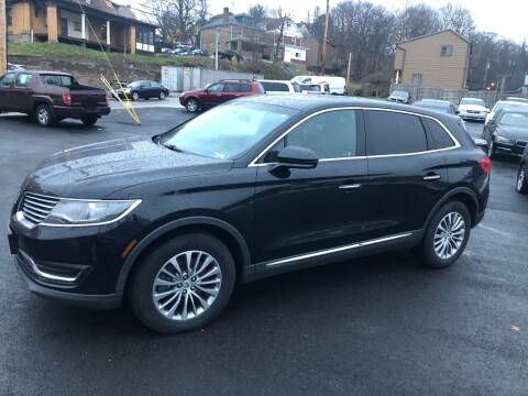 2016 Lincoln MKX for sale at Fellini Auto Sales & Service LLC in Pittsburgh PA