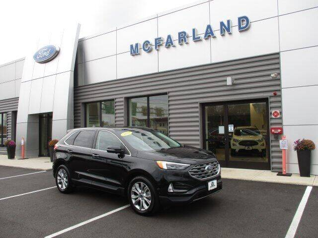 2019 Ford Edge for sale at MC FARLAND FORD in Exeter NH
