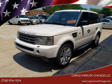 2006 Land Rover Range Rover Sport for sale at Cargo Vans of Chicago LLC in Mokena IL