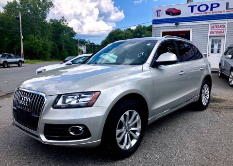 2013 Audi Q5 for sale at Top Line Import of Methuen in Methuen MA