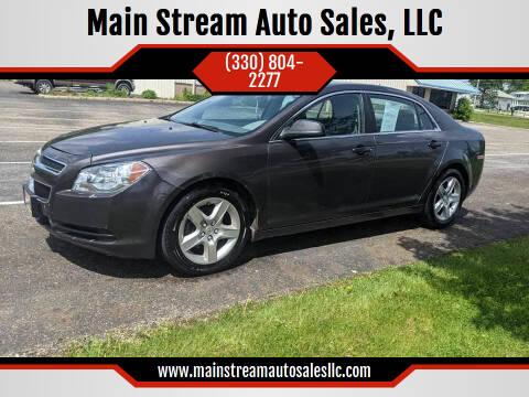 2011 Chevrolet Malibu for sale at Main Stream Auto Sales, LLC in Wooster OH