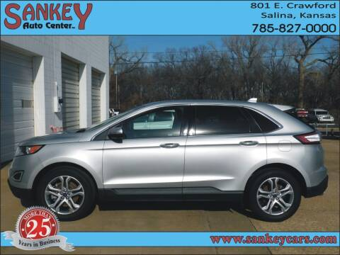 2018 Ford Edge for sale at Sankey Auto Center, Inc in Salina KS