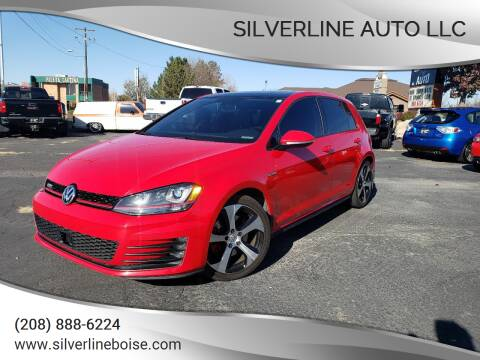 2015 Volkswagen Golf GTI for sale at Silverline Auto Boise in Meridian ID