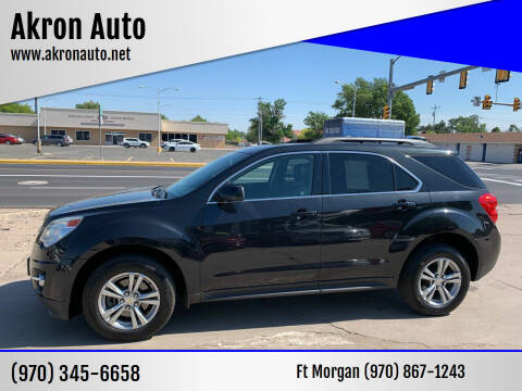 2014 Chevrolet Equinox for sale at Akron Auto - Fort Morgan in Fort Morgan CO
