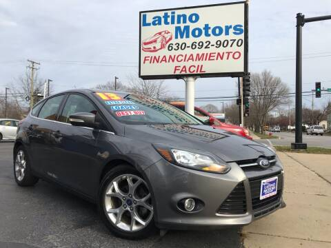 2013 Ford Focus for sale at Latino Motors in Aurora IL