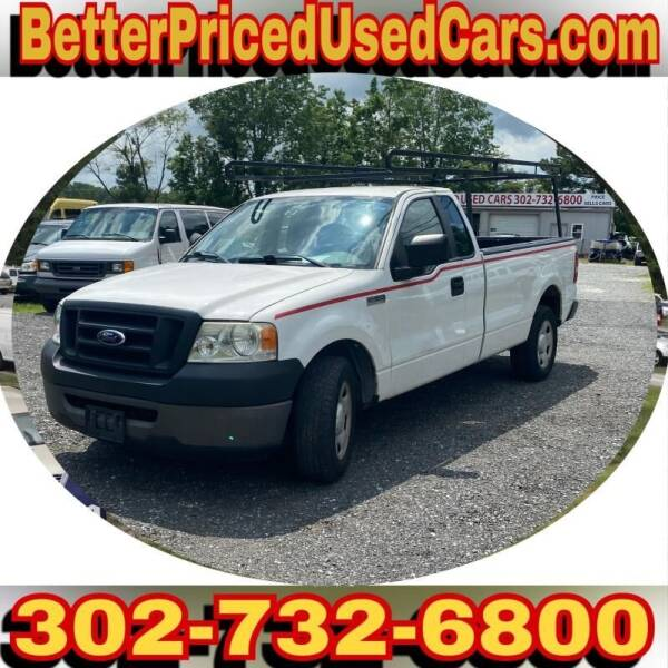2007 Ford F-150 for sale at Better Priced Used Cars in Frankford DE