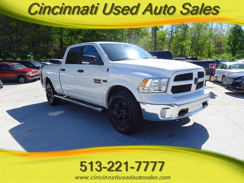 2014 RAM Ram Pickup 1500 for sale at Cincinnati Used Auto Sales in Cincinnati OH