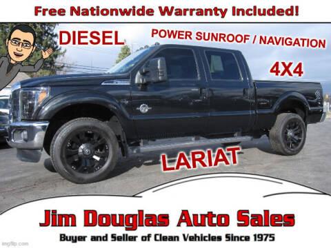 2013 Ford F-350 Super Duty for sale at Jim Douglas Auto Sales in Pontiac MI